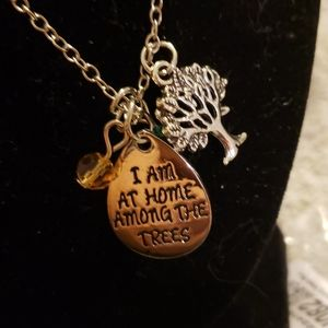 Jewelry - NWOT TREE OF LIFE..LIVE AMONG  THE TREES